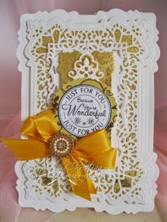 Spanish Collection - Seville by Sue Wilson  and Gilding Flakes