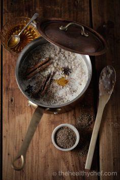 Winter Warming Porridge With Chai Aromatics