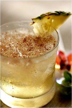 Greenport Shuffle (rum, pineapple juice, nutmeg). Photo: Andrew Scrivani for The New York Times
