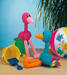 Tropical Bird free crochet pattern by Country Women's Magazine