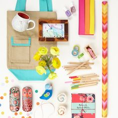 """Surprise the mom who """"makes everything"""" with a lovely tote or quirky measuring tape for Mother's Day"""