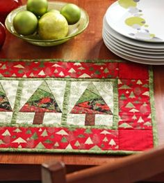 Quilted DIY Place Mats | Christmas Crafts | Holiday | Quilting — Country Woman Magazine