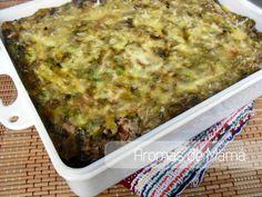 Pastel de berenjenas y carne ~ Aromas de Mamá | Recetas de Cocina | aromasdemama.com