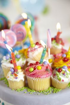 Create unique cakes & cupcakes with our essential baking supplies! #Candy #Party #BirthdayExpress