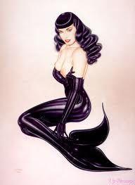 betty page mermaid