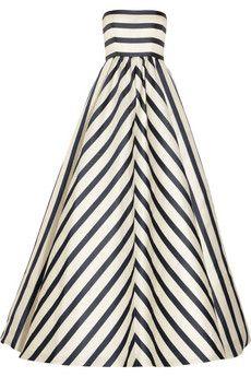 Oscar De La Renta Striped Gown, ummm yes.