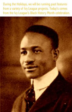 "J. Mayo ""Ink"" Williams (September 25, 1896 - January 2, 1980) was an early recording executive for ""race records"" with Paramount and Decca. He also had his own labels, Black Patti briefly in the 1920's and the longer-lasting Ebony Records from 1946 until his death. He prayed football and ran track at Brown, then played in the NFL for 5 years and coached football at Morehouse during the Depression. #TodayInBlackHistory"