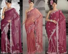 Wedding garment should ideally accentuate the woman's beauty, for she needs to be the cynosure of all eyes on D-day. lehenga sare, dark peach, stun sare, attract lehenga, designer sarees, sare collect, indian beauti, shade, eye