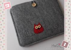 Felt Ipad Case Handmade Tablet-PC Case