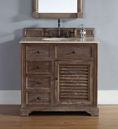 Storage Smart Traditional Vanities For A Small Bathroom