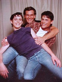 The Curtis brothers   Ponyboy, Sodapop and Darry   The Outsiders