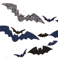 bat garland | halloween