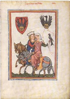 Manesse-Tafel 029: Herr Wernher von Teufen