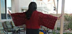 Free Japanese Geisha Jacket Crochet Pattern - The Crochet Crowd