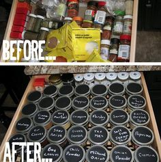 How to {Organize} your {Spice Drawer!}