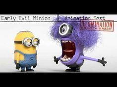 Evil Minion Animation Screen Test! Hilarious Video! BA NA NAAAAA lol #hilarius #despicablemeii zz#-animation #mionimł