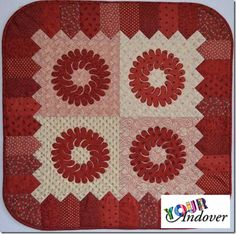 Congratulations to Amy Rochelle, this weeks winner of the Your Andover contest! She made this adorable quilt using Jo Morton's Variety collection. Click the picture to check out the whole line for yourself.
