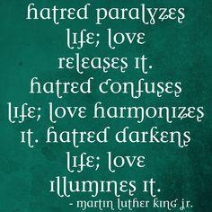 love illuminates life
