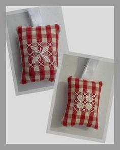 Cross stitch on gingham on pinterest chicken scratch - Broderie traditionnelle grille gratuite ...