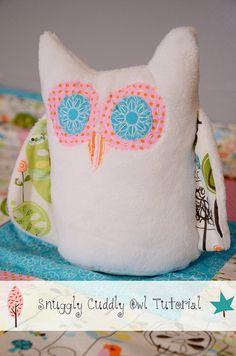 Owl Tutorial by newgreenmama