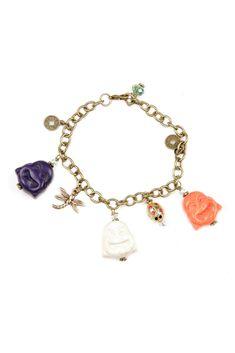 Buddha Charm Bracelet
