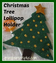 Christmas Tree Lollipop Holder
