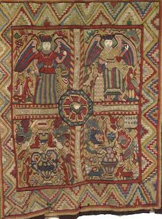 Norwegian Bed Carpets from the 1600s