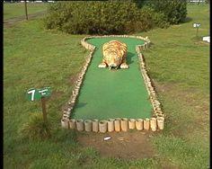 Adventure golf.