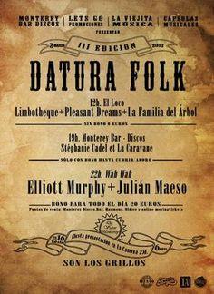 Datura Folk 2013 en Valencia