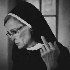 Fuck off... Jessica Lange as Sister Jude, American Horror Story II