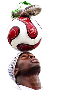 Iya Traore, football freestyler