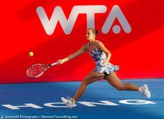 Jarmila Gajdosova playing in Hong Kong on Wednesday, more pics here: http://www.womenstennisblog.com/2014/09/10/star-players-advance-hong-kong-tennis-open-highlights/