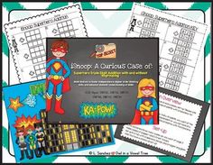 Superhero Triple Digits Math Station