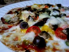Ezekiel Sprouted Tortilla Pizza - The Kitchen Table - The Eat-Clean Diet®