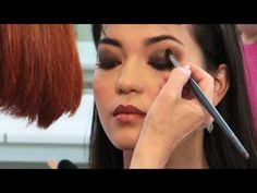 Asian Eyes Makeup Tutorial: Smokey Eyes (Asian Skin, Ep4): In this makeup tutorial for asian eyes, Pamela Hackeman, Instructor at Make-Up Designory's Los Angeles Campus, uses her favorite versatile travel palette to take a natural daytime beauty look and bump it up to a sexy evening fashion look with a smoky eye for Asian skin.