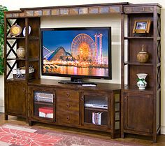 fe furnitur, shelv, furnitur collect, tv cabinet, feentertain center, santa feentertain, entertainment centers