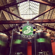 Take a Brooklyn Brewery tour! Free tours run every weekend. #brooklynbrewery #ourNYC