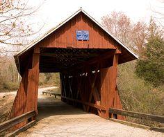 Campbell's  Covered Bridge, Landrum, SC