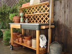 Sweet Surrender: The Gardening Table
