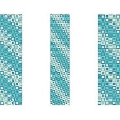 3 Peyote Patterns - Oceans Squared Cuff Bracelets -   3 Variations For The Price Of 1 $3.60