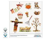 Classic Autumn Digital Embellishments for StoryBook Creator