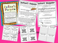 Authors Purpose and Point of View