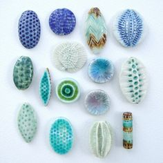 beads and pendants by c-urchin, via Flickr