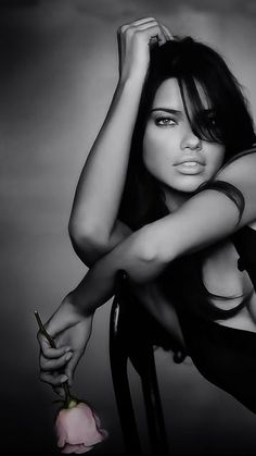 "Adrianna Lima (""Top Sexy and Beautiful"" per community, from Kythoni: Adrianna Lima board ) pinterest.com/kythoni m.32.8 #KyFun"