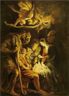 Adoration of the Shepherds - Peter Paul Rubens
