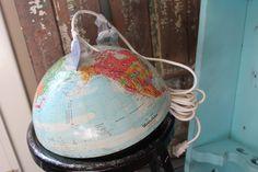 bird, globe light