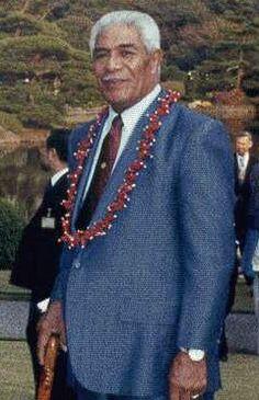 HIGH CHIEFS of SAMOA - HH Malietoa Tanumafili