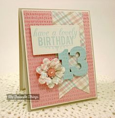 The Scalloped Edge: Have a Lovely 13th Birthday {SSSC202}