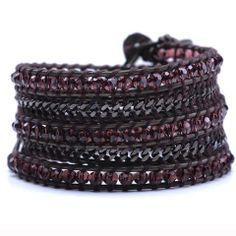 Burgundy Chains