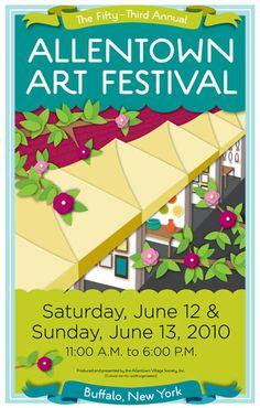 Allentown Art Festival, Buffalo, NY...one of the best!